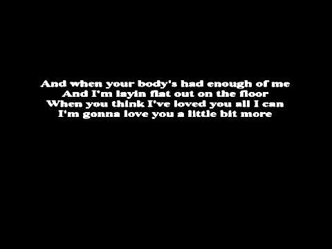 dr hook love you a little bit more lyrics