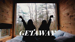Tiny Cabin Experience| Vlog/tour | Getaway House Atlanta