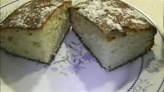 """Пирог на основе йогурта """" Активиа"""" ( Очень простой рецепт)"""