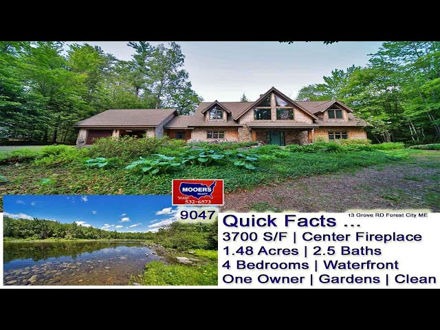 St Croix River Waterfront Property | Maine Real Estate MOOERS REALTY 9047