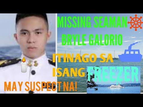 BRYLE GALORIO MAY SUSPECTS NA BANGKAY NILAGAY SA FREEZER Part 1  #Viral #CadetSeaman #PinasTrending