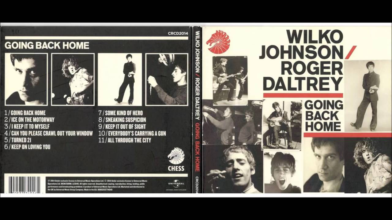 Wilko Johnson Roger Daltrey Can Yor Please Crawl Out Of Your