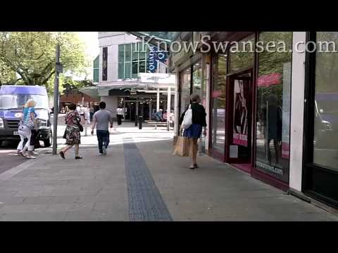 iKnowSwansea.com Going for a Walk - Oxford Street, Whitewalls and The Quadrant Shopping Centre