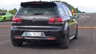 800HP Volkswagen Golf 6 R 3.6 HGP Biturbo!