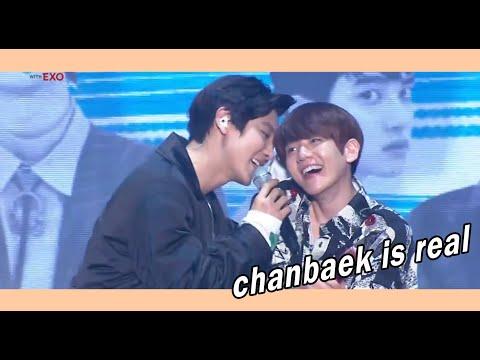 chanbaek opv (cute moment) real 100%