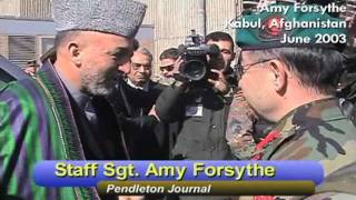 Amy Forsythe Reports From Kabul, Afghanistan