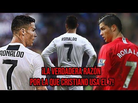 La VERDADERA razón por la que Cristiano Ronaldo usa el número 7
