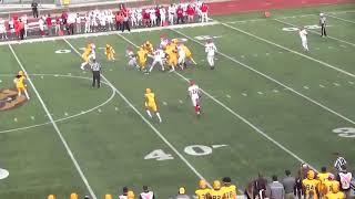 Montclair State Football Highlights vs. Rowan - 11/4/17