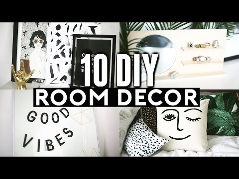 10 DIY ROOM DECOR Ideas for 2017! (Tumblr Inspired) Minimal & Easy! ✂️ 💡 🔨