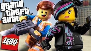 GTA 5 Mods - LEGO MOD w/ EMMET & LUCY (GTA 5 PC Mods Gameplay)