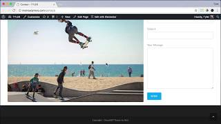 Create Your Contact Page In WordPress #24