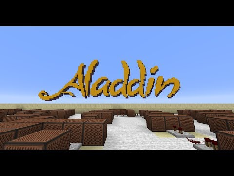 Aladdin  Prince Ali Minecraft Noteblocks