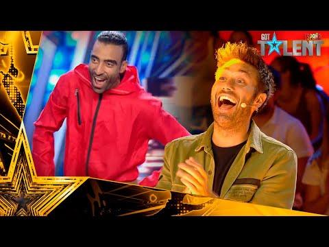 Estos FRANCESES bailan BELLA CIAO y se llevan el PASE de ORO | Audiciones 2 | Got Talent España 2021