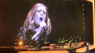 Adele Sweetest Devotion live Birmingham 1/4/2016