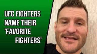 UFC Fighters tell their
