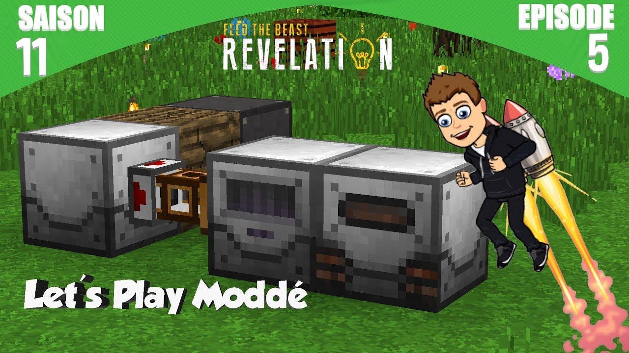 Usine de latex | Minecraft Moddé - FTB Revelation | Ep# 5