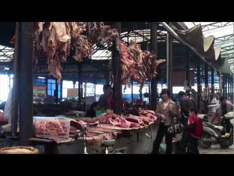The Shangri-La market  (Yunnan - China)