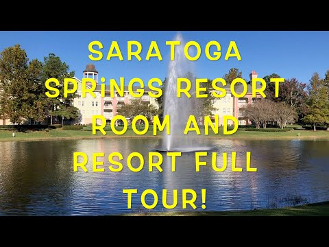 Saratoga Springs Resort and Spa Full Resort and Room Tour!
