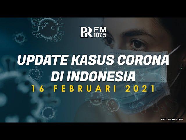 Update Kasus Corona di Indonesia 16 Februari 2021