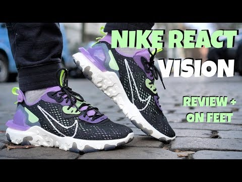 NIKE REACT VISION REVIEW + ON FEET & SIZING.....MOST COMFORTABLE NIKE SNEAKER?