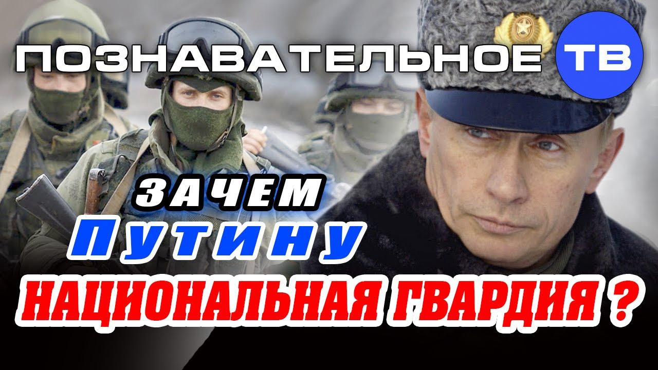 Путинский росгвардейский пёс будет противодействовать  Русской Революции (дестабилизации)