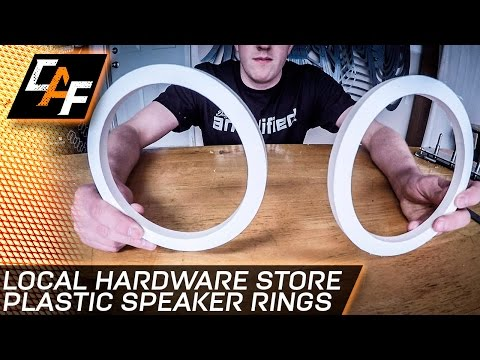 Speaker rings - What material you SHOULD BE using - CarAudioFabrication