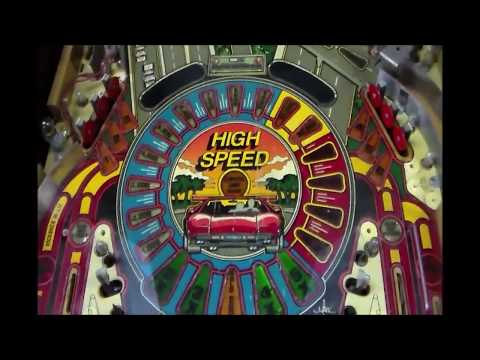 Refurbishing Williams' Classic 1986 High Speed Pinball Machine