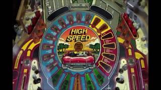 Refurbishing Williams' Classic 1986 High Speed Pinball Machine