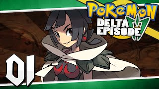 Pokémon Delta Episode - Part 1 | The Key Stone Thief! [Omega Ruby and Alpha Sapphire]