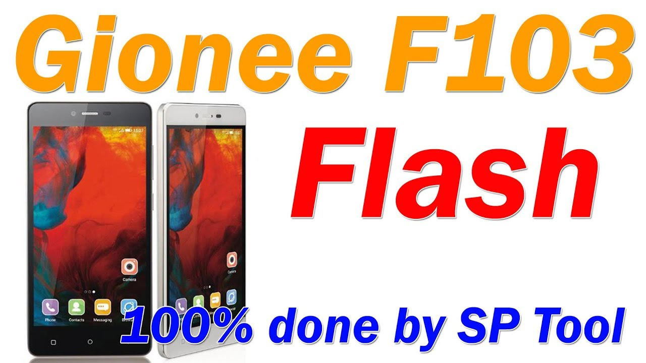 How TO Flash Gionee F103 Pro 100% Done By SP Tool
