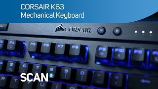 CORSAIR K63 wireless mechanical gaming Keyboard- Overview