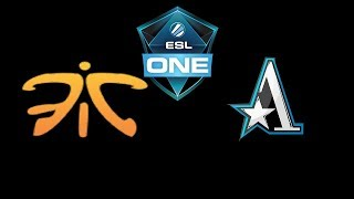 Fnatic vs Team Aster ESL One Katowice 2019 Highlights Dota 2