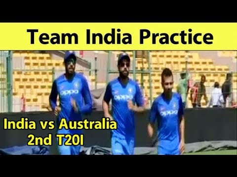 Watch: Indian Team Practice In Banglore Ahead Of 2nd T20I | India vs Australia| Sports Tak