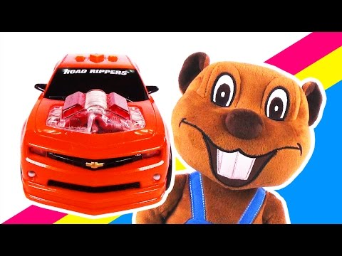 Cool Cars & Toy Trucks | Learn Colors & Counting, Vehicles Videos for Kids by Busy Beavers