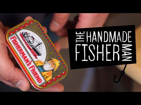 Making a Fisherman's Friend Drop Shot mini tackle box