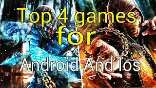 Top 4 best games for android and ios 22-3-2018