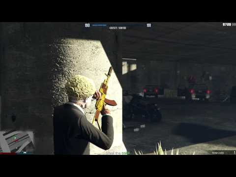 Gta 5 online mision -  Violent duct [HARD]