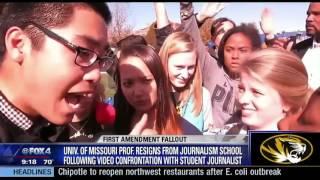 Professor weighs in on Mizzou protest incident