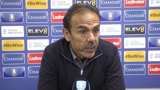 POST-MATCH   Jos Luhukay reviews the 2-2 draw with West Brom