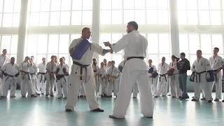 """""""Kyokushin Karate"""" зимние зборы. Херсон-12.01.2018. ХДУ А.Хороняк."""