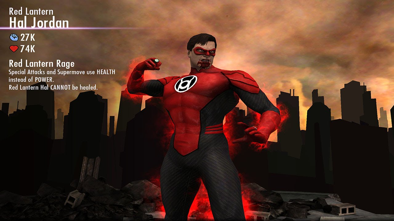 red lantern hal jordan injustice gods among us ios android