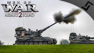 Modern Desert Rats vs Afrika Korps - Men of War: Assault Squad 2 - Red Rising UK #2