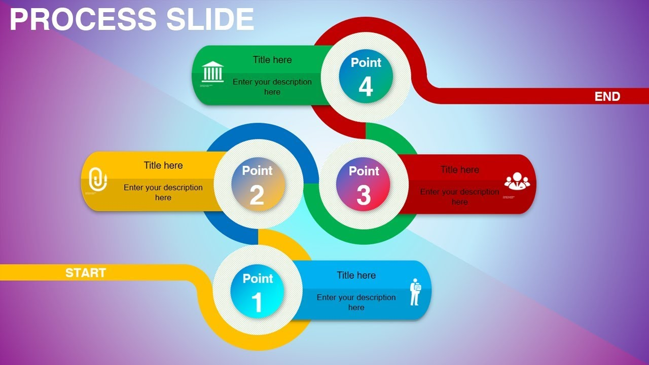 how to create circle infographics in powerpoint youtube