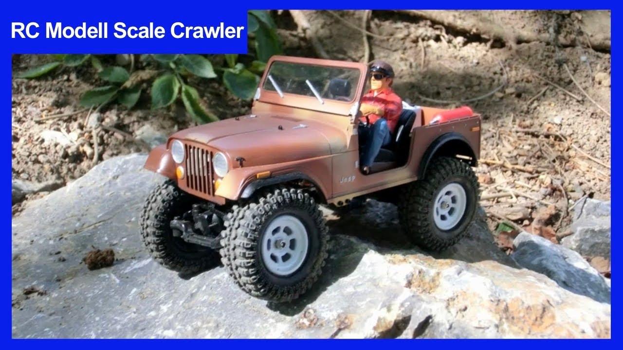 Rc Losi Micro Rock Crawler Cj7 Scale Jeep Youtube