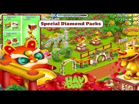 Hay Day - Diamond Purchase Packs, Valentines Decoration