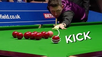 "CRUCIAL ""KICK"" - Snooker Player's Worst Nightmare"