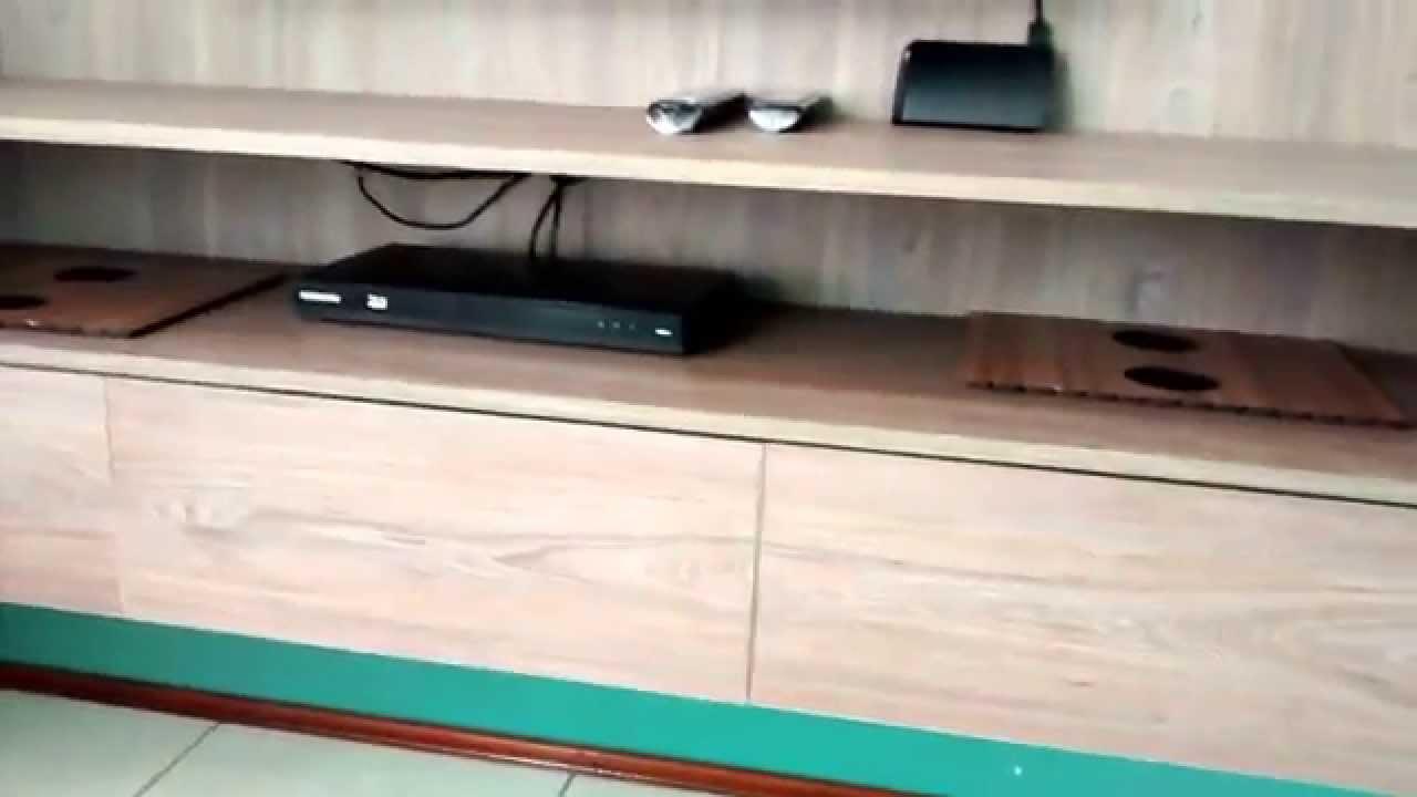 Rack Pra Sala De Tv ~ Sjn Marcenaria Painel Rack para TV sala  YouTube