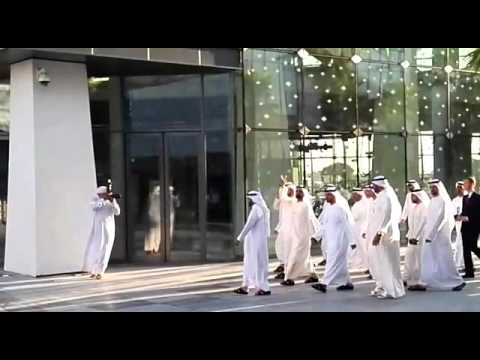 City walk Dubai, H.H Sheikh Mohammed,Ruler of Dubai visit.
