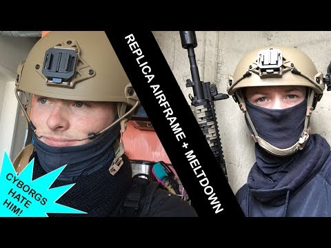 The Ultimate Airsoft Helmet // AirFrame (Crye) Helmet Review