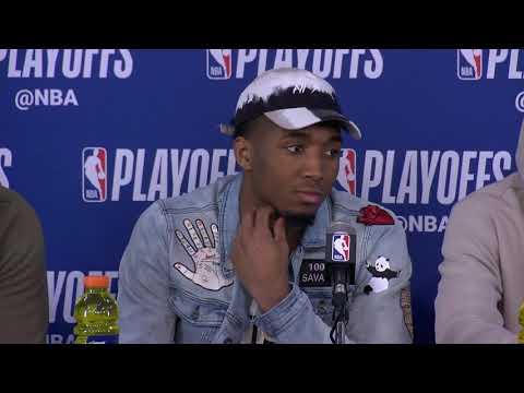 Utah Jazz Postgame Interview | Jazz vs Thunder - Game 5 | April 25, 2018 | 2018 NBA Playoffs